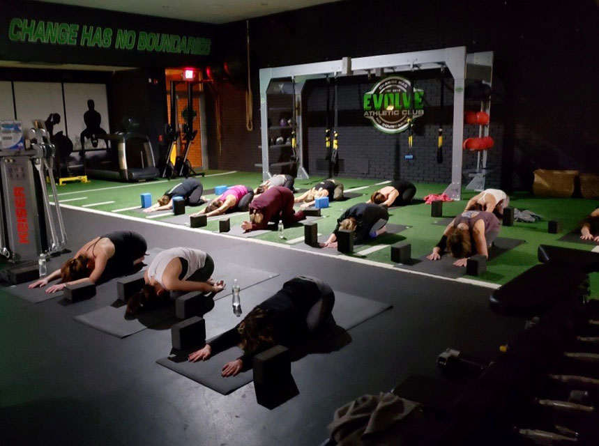 westchester fitness party yoga